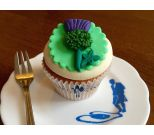 Burns Night Cupcake