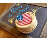 July Fourth Cupcake