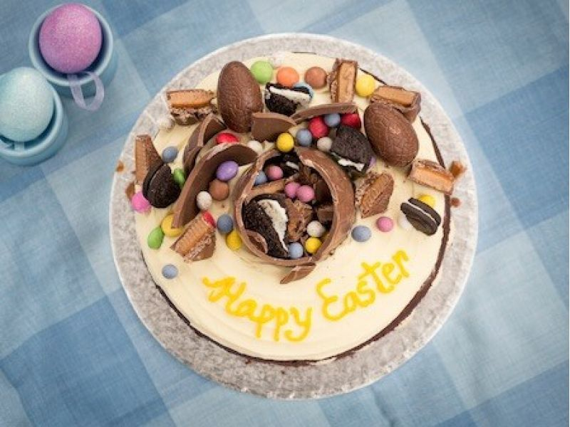 Chocolate Explosion Easter Cake
