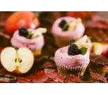 Apple & Blackberry (GF*) Cupcake